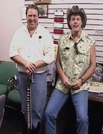 Paul Suits and Ted Nugent pausing for a picture